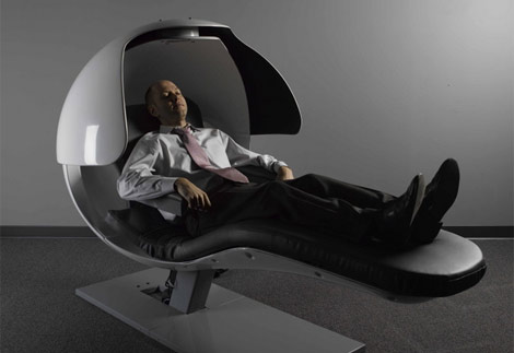A Metronap Energy Pod in use at Google and others to help restore cognitive performance. Why is aviation not using this?